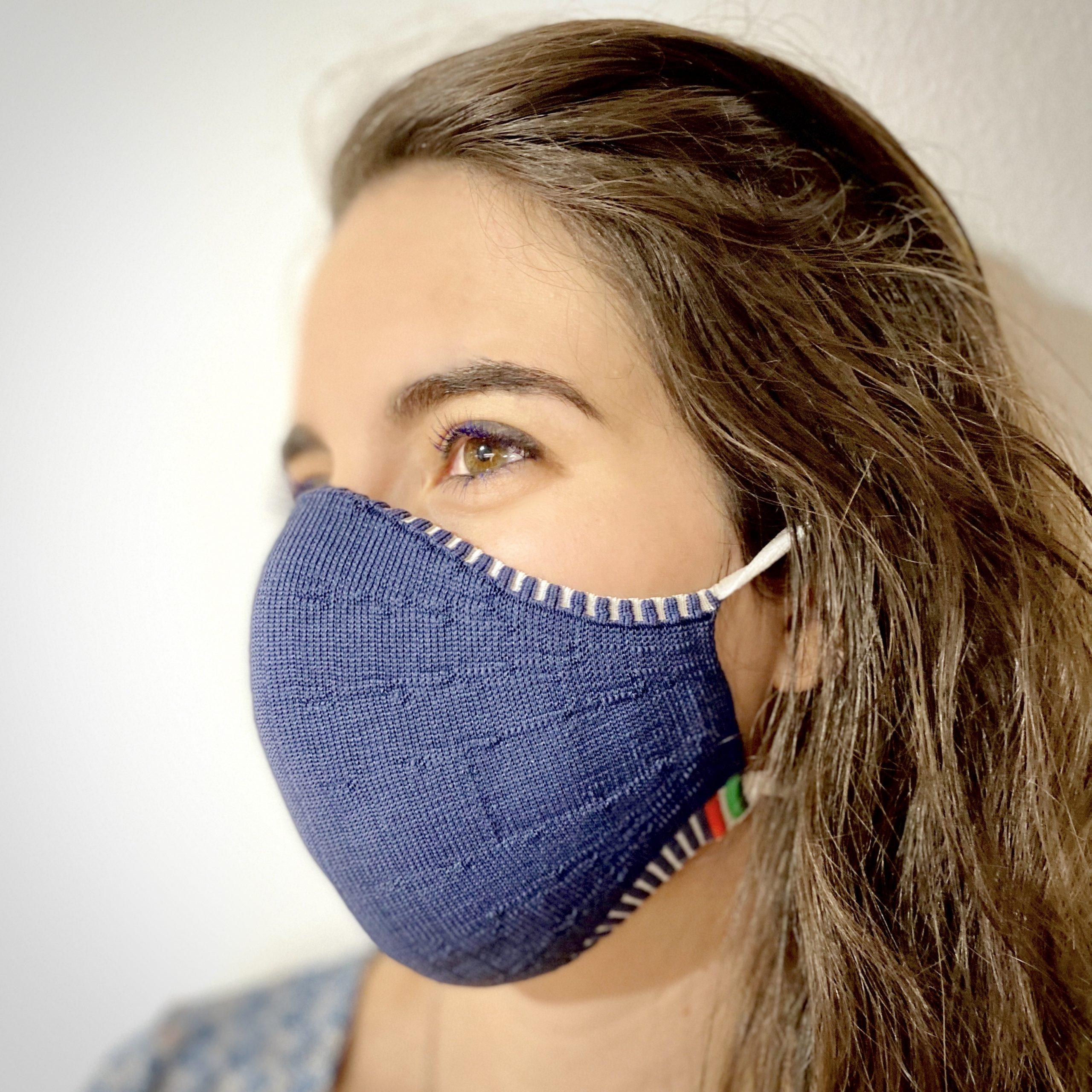 Schutzmasken als modisches Accessoire – antibakteriell, chic und waschbar