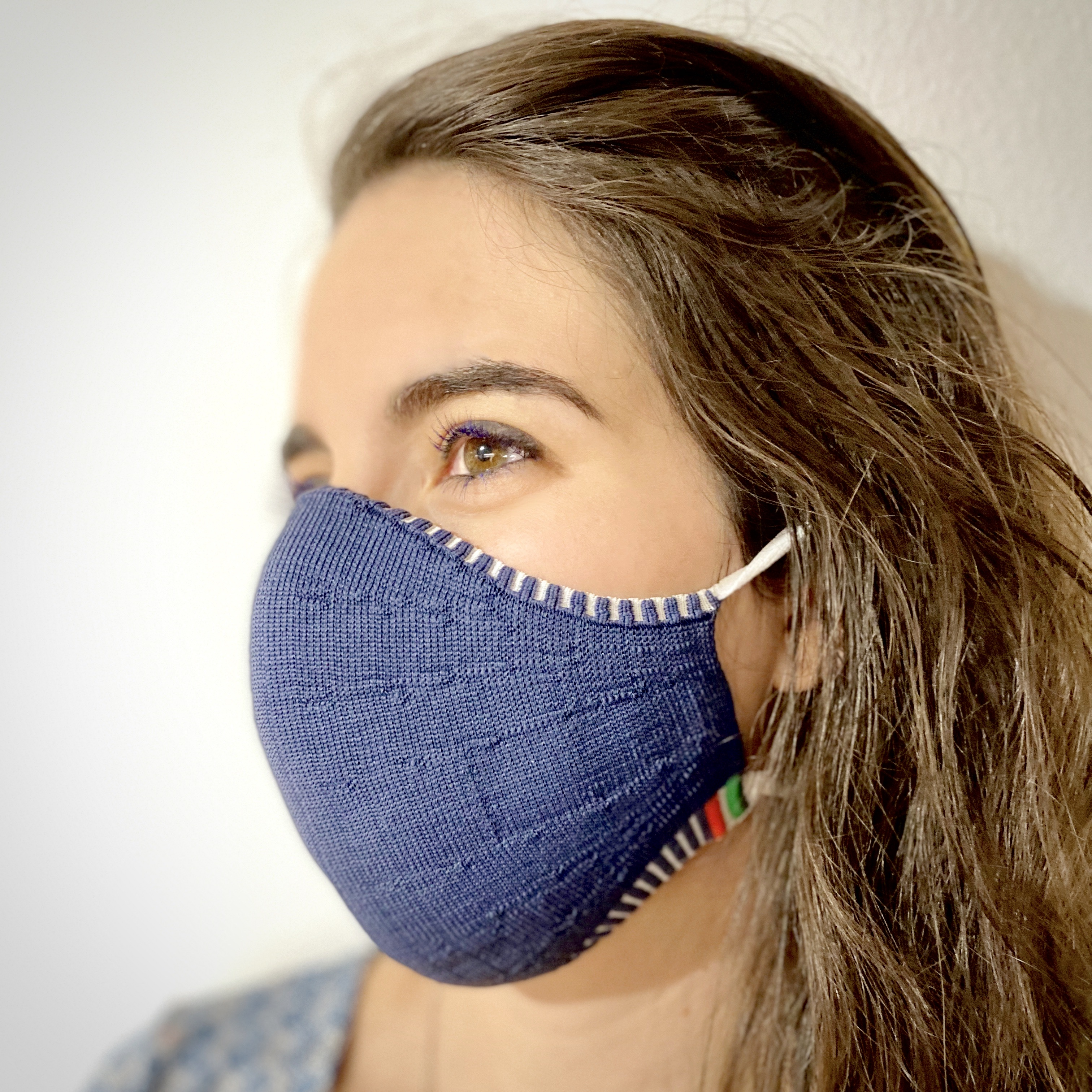 Protective face masks as a fashionable accessory – antibacterial, chic and washable